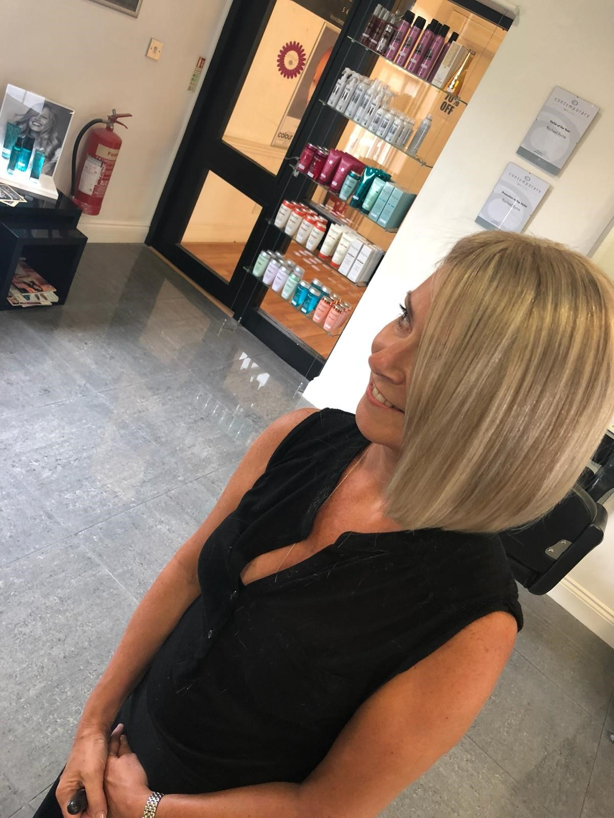 Contemporary salon manager Amanda Day: hair and confidence restored