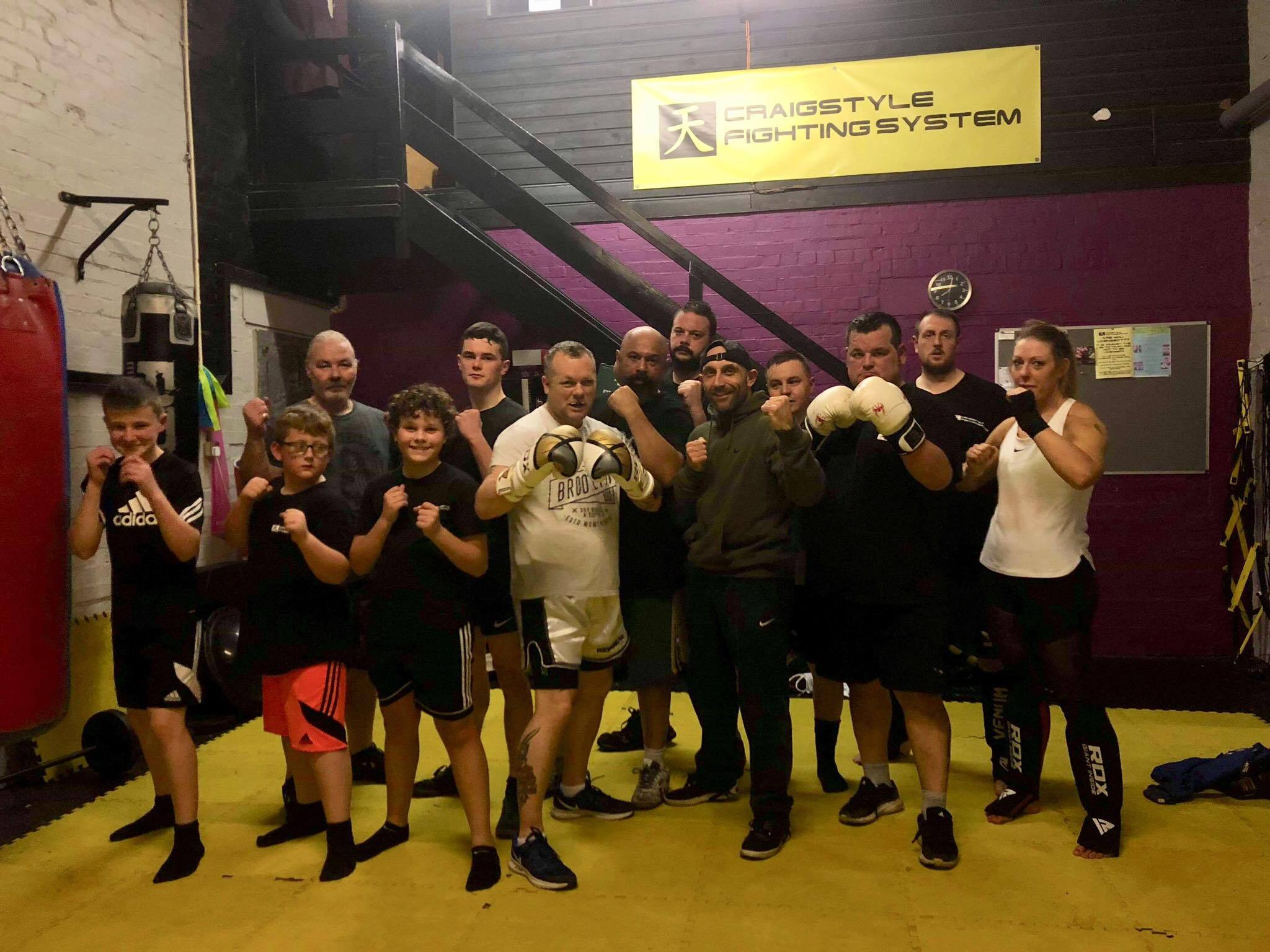 FIGHT NIGHT: Members of North-East Bikers Against Bullies are taking part in a charity boxing night to raise money