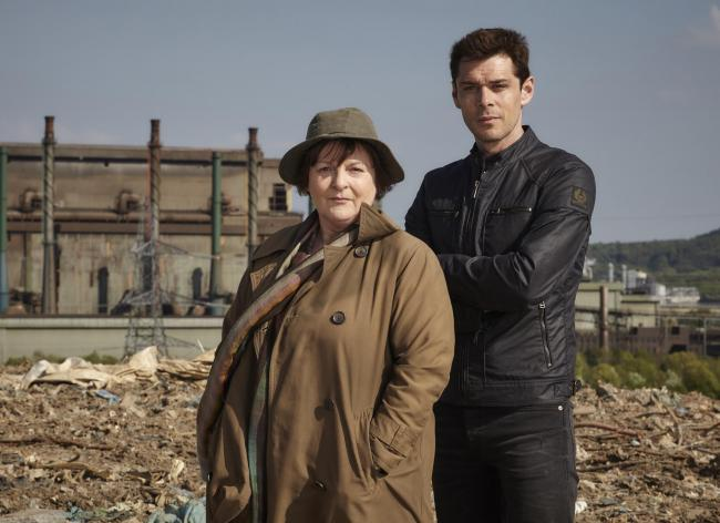 Series nine: Vera's hat has become so iconic they are doing a roaring trade selling them in Newcastle