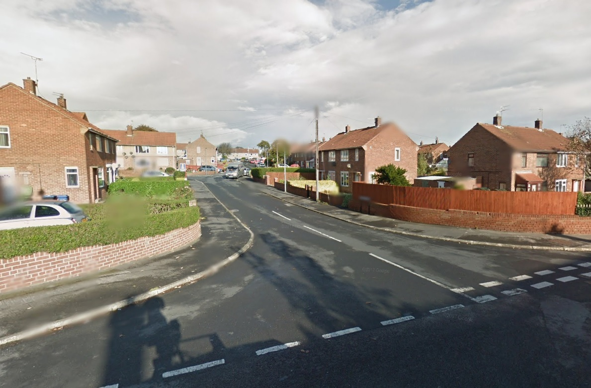 COURT: Derwent Close, in Seaham Picture: GOOGLE