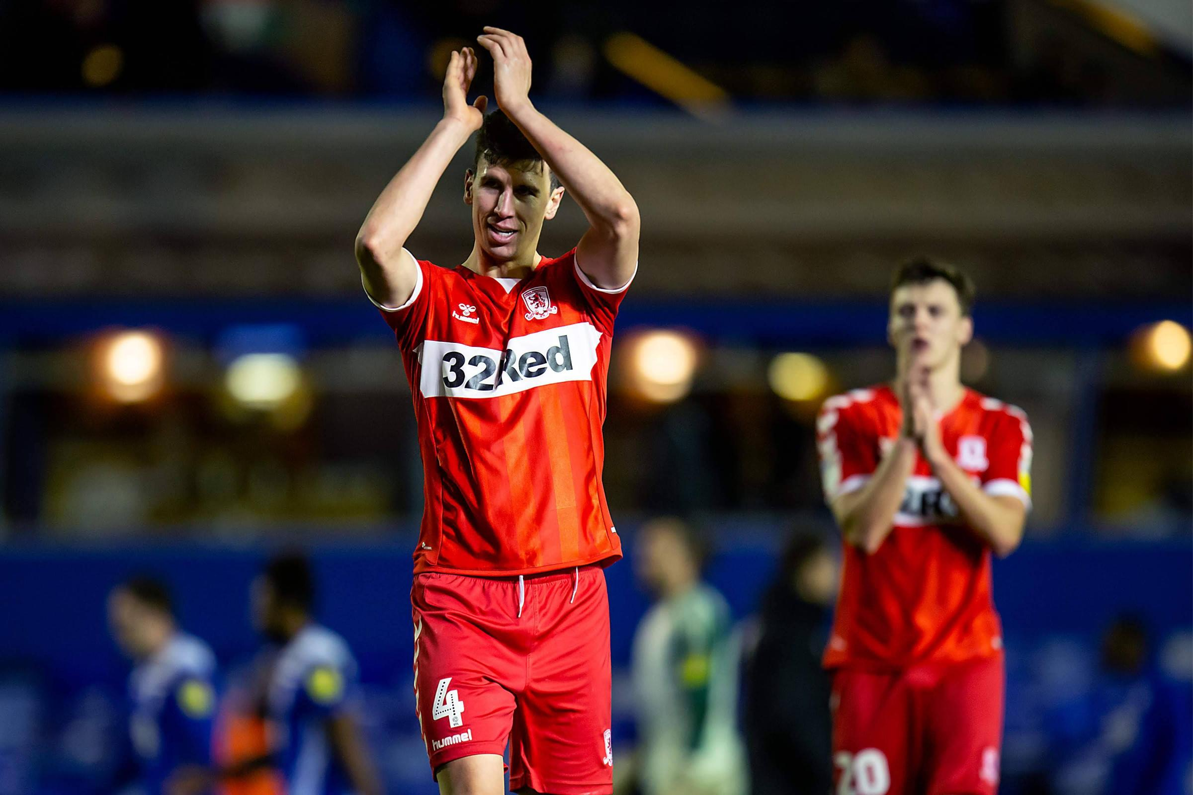 Slip up? What slip up? Top two has always been target insists Boro's Daniel Ayala