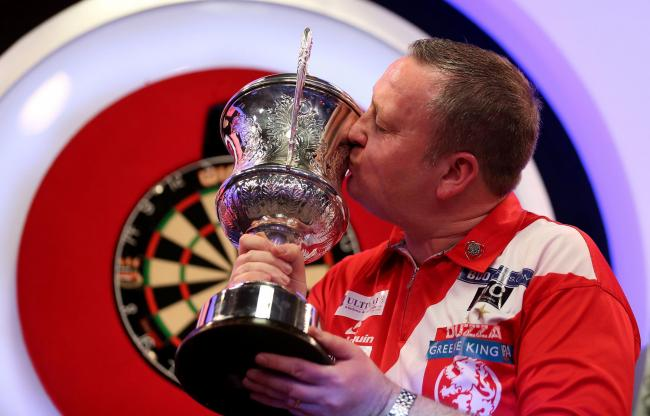 WORLD CHAMPION: Glen Durrant (Picture: Steven Paston/PA Wire)