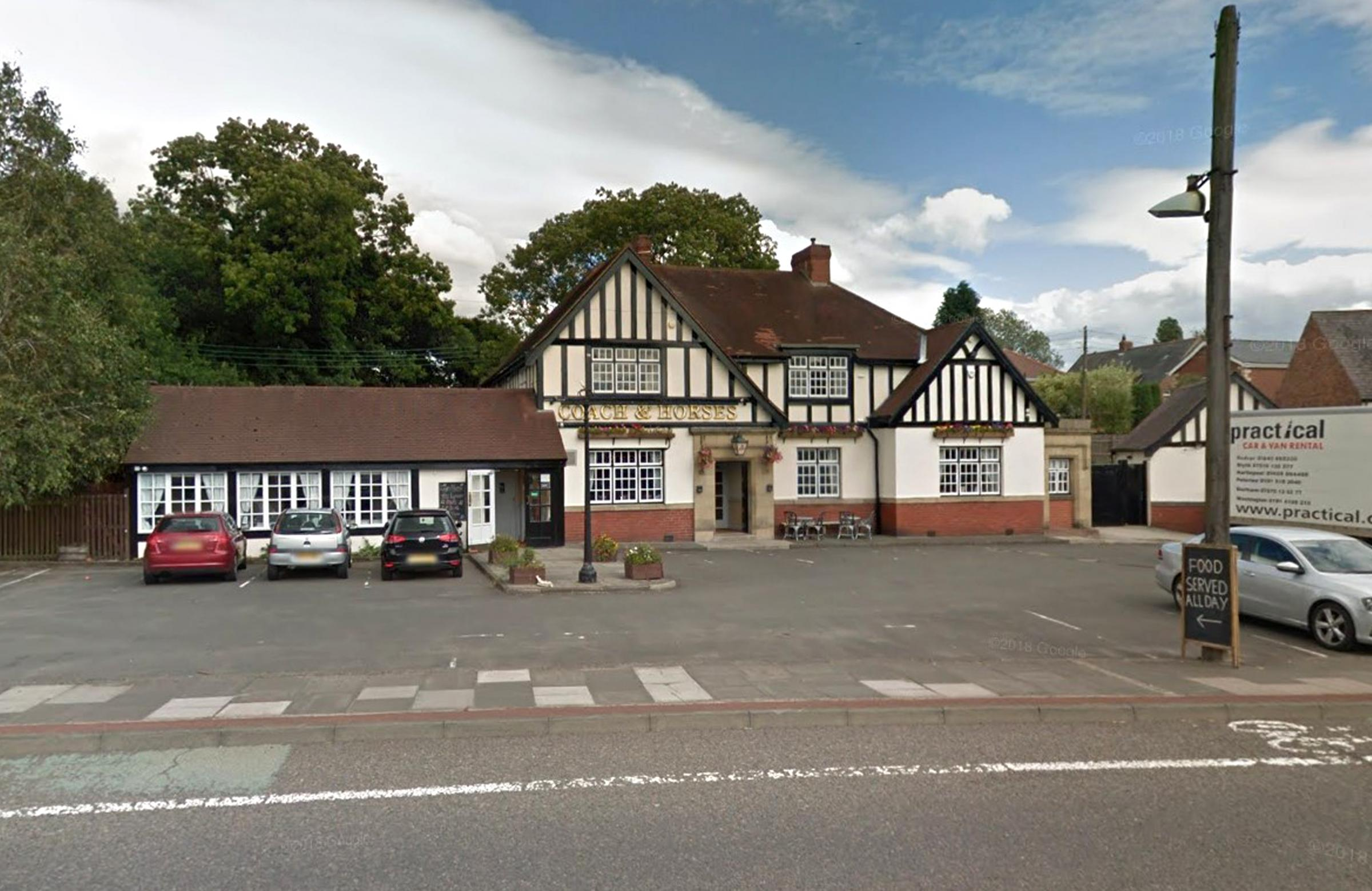 MAN CHARGED: A man has been charged following a suspected stabbing outside the Coach and Horses pub in Birtley Picture: Google