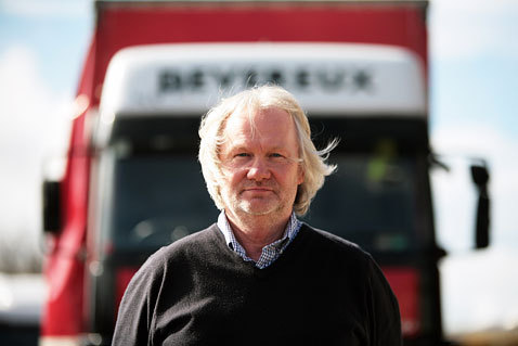 Ken Devereux, who has called for councils to show more consideration to the needs of lorry drivers
