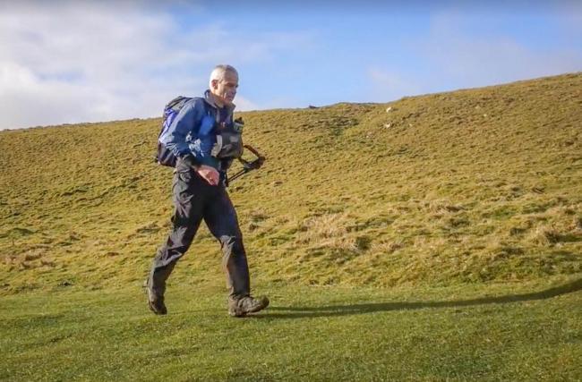 National park ranger completes Pennine Way ultra-marathon