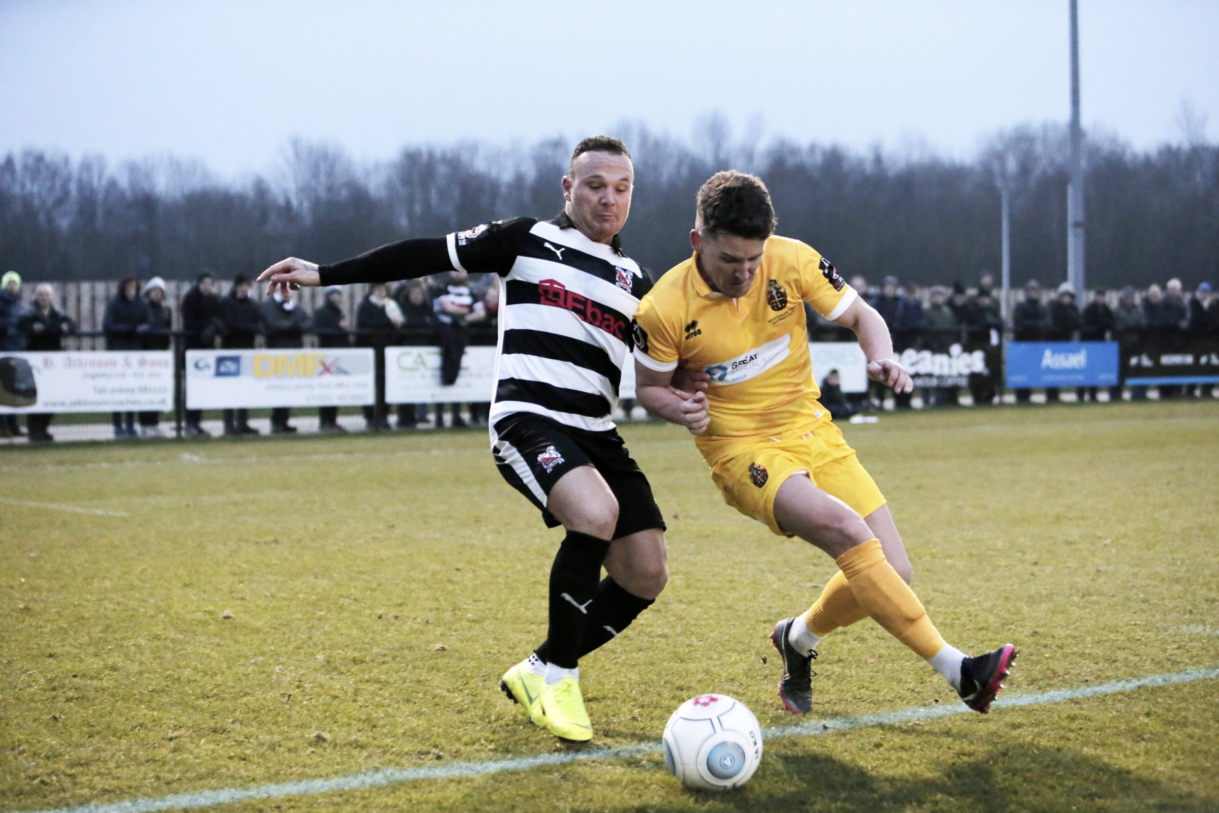 Darlo Diary: No complaints about Darlington's performance in defeat to Spennymoor