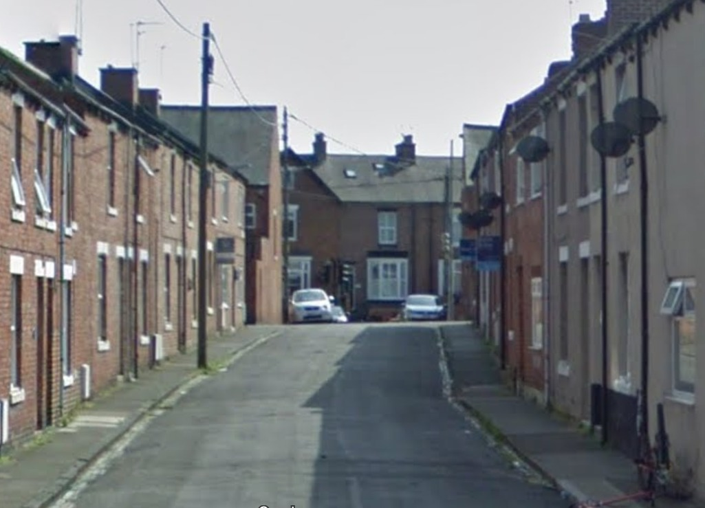 DRUG RAID: Victor Street in Chester-le-Street