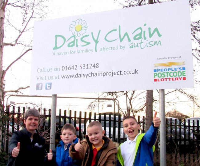 Charity Daisy Chain is celebrating after being pledged £350,000 of People's Postcode Lottery funding this year