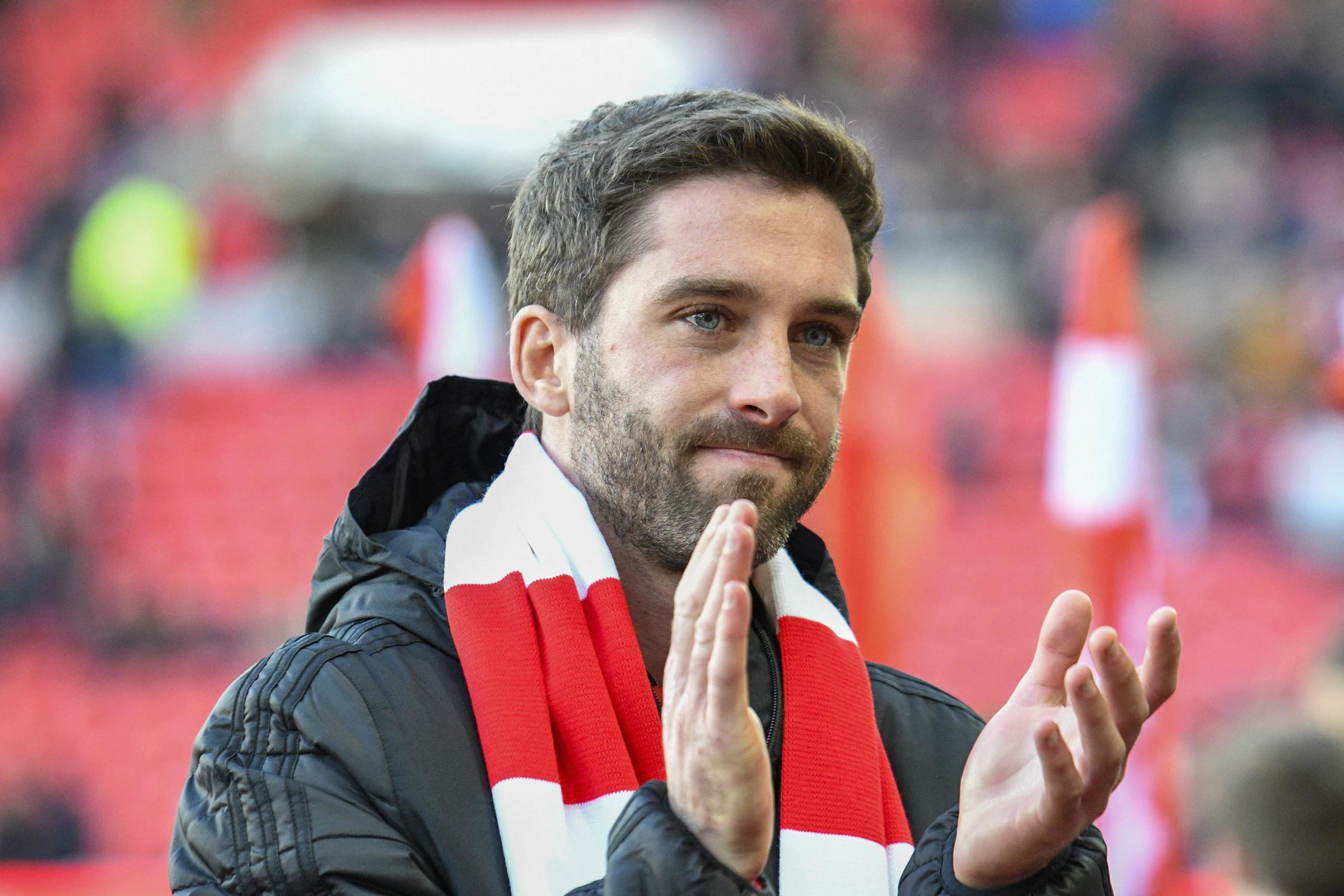 Will Grigg will travel to Oxford United on Saturday hoping to make his debut for Sunderland after signing for the club in the January transfer window. Picture: Iam Burn | MI News & Sport Ltd