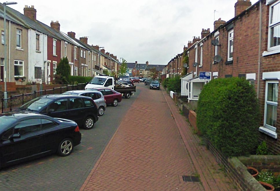 Police are appealing for witnesses after a pregnant woman was robbed in Prospect Terrace, New Brancepeth. Picture: Google