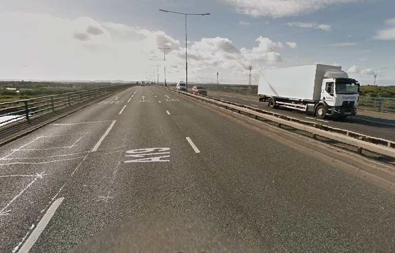 Traffic building on A19 after crash