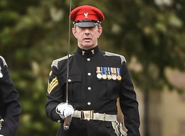 ARMY DEATH: Sgt McKelvie died on Monday. Picture: The Scottish & North Irish Yeomanry