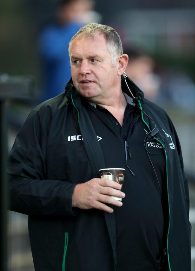 Newcastle Falcons Director of Rugby Dean Richards. Picture: PA
