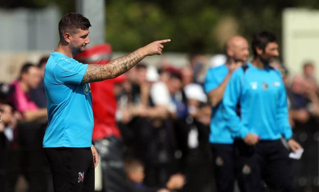 Darlington manager Tommy Wright. Picture: CHRIS BOOTH
