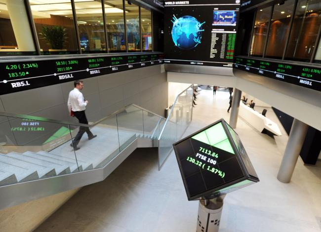 Inside the London Stock Exchange. Picture: Nick Ansell/PA Wire