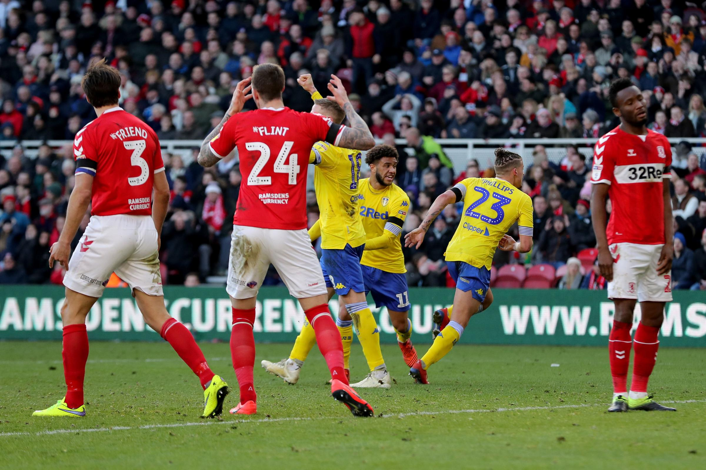 Tony Pulis reflects as Leeds snatch draw at Boro in 11th minute of stoppage-time