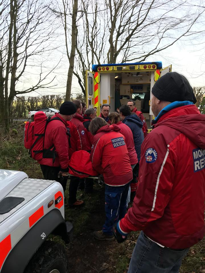 Horse rider rescued from remote location on Moors