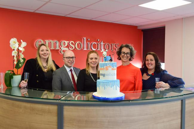 5th Anniversary of EMG Solicitors, Abbey House Abbeywoods Business Park, Durham.