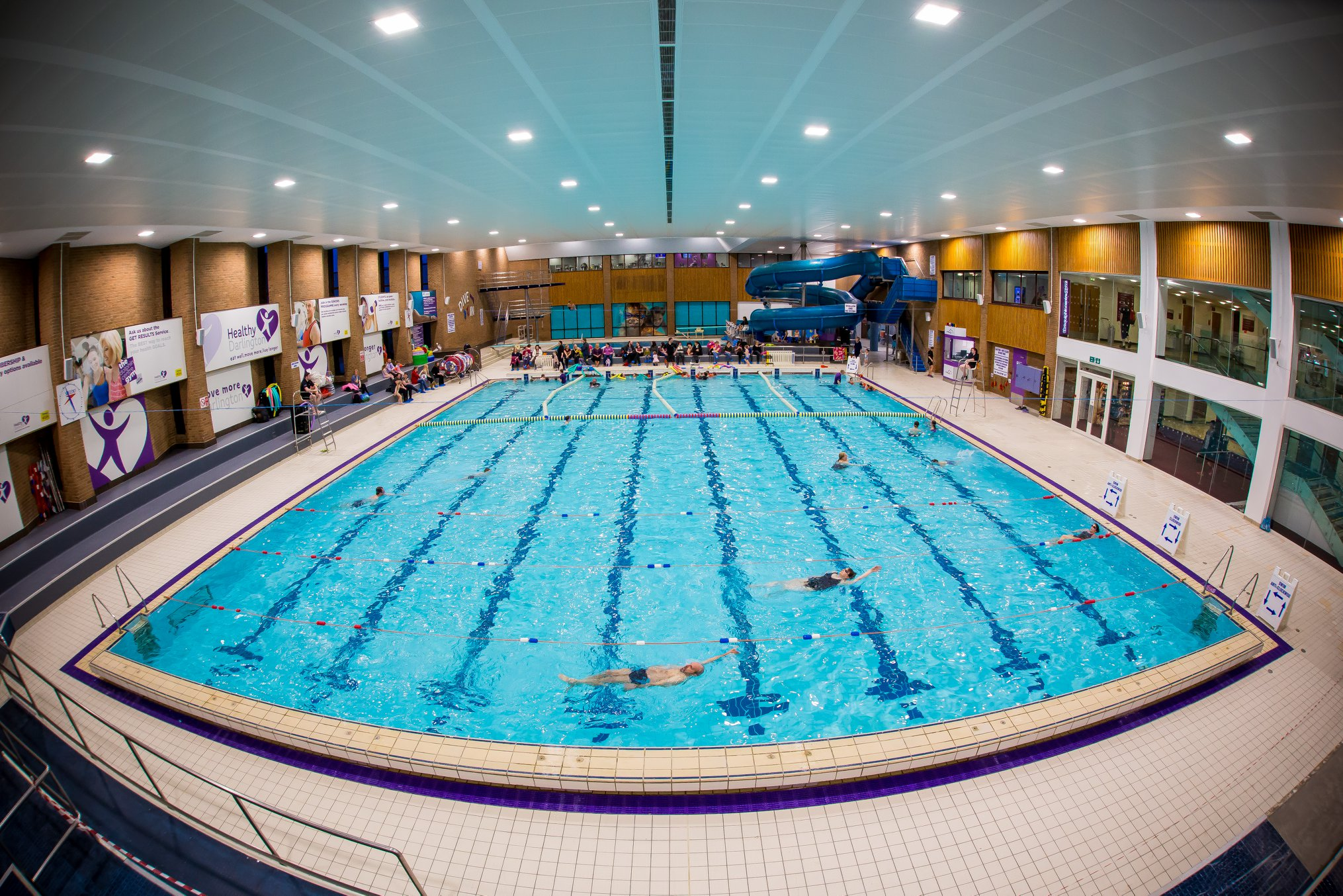 Dolphin Centre swimming pools closed
