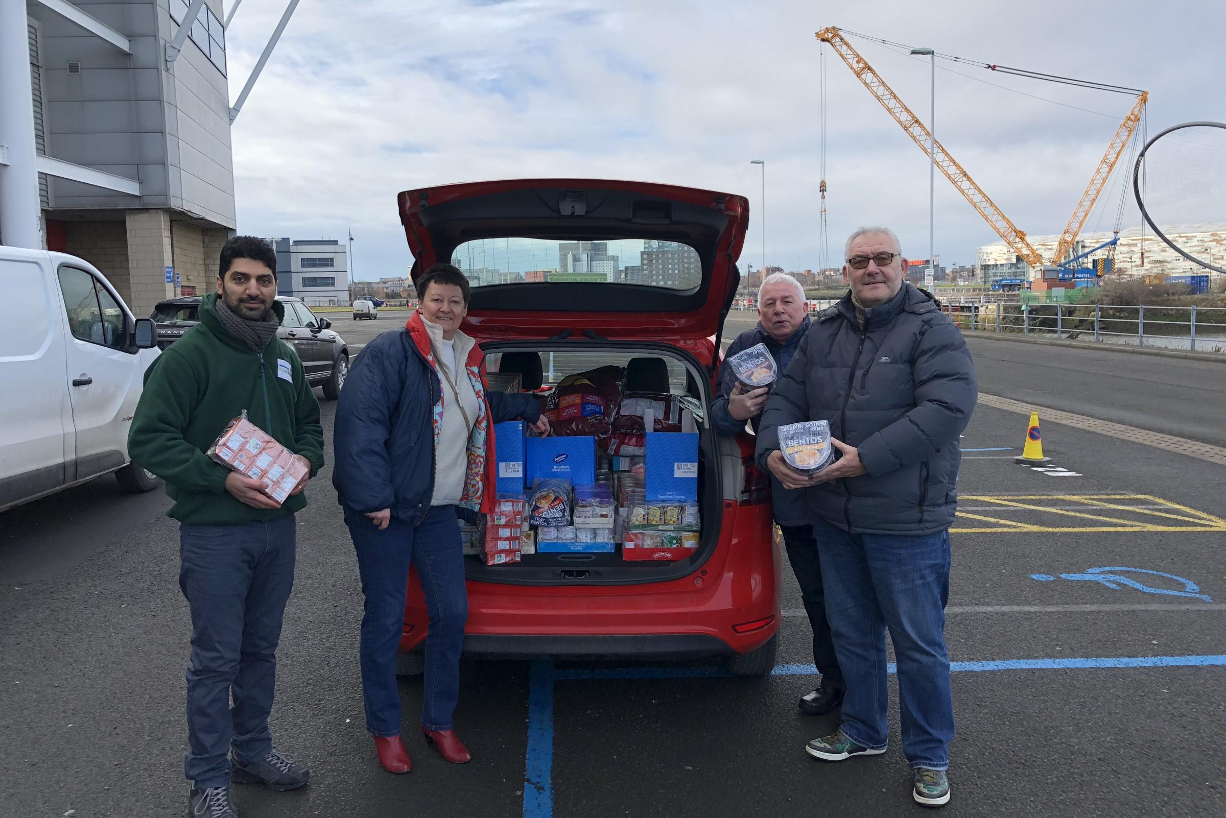 Middlesbrough fans urged to support foodbank with donations