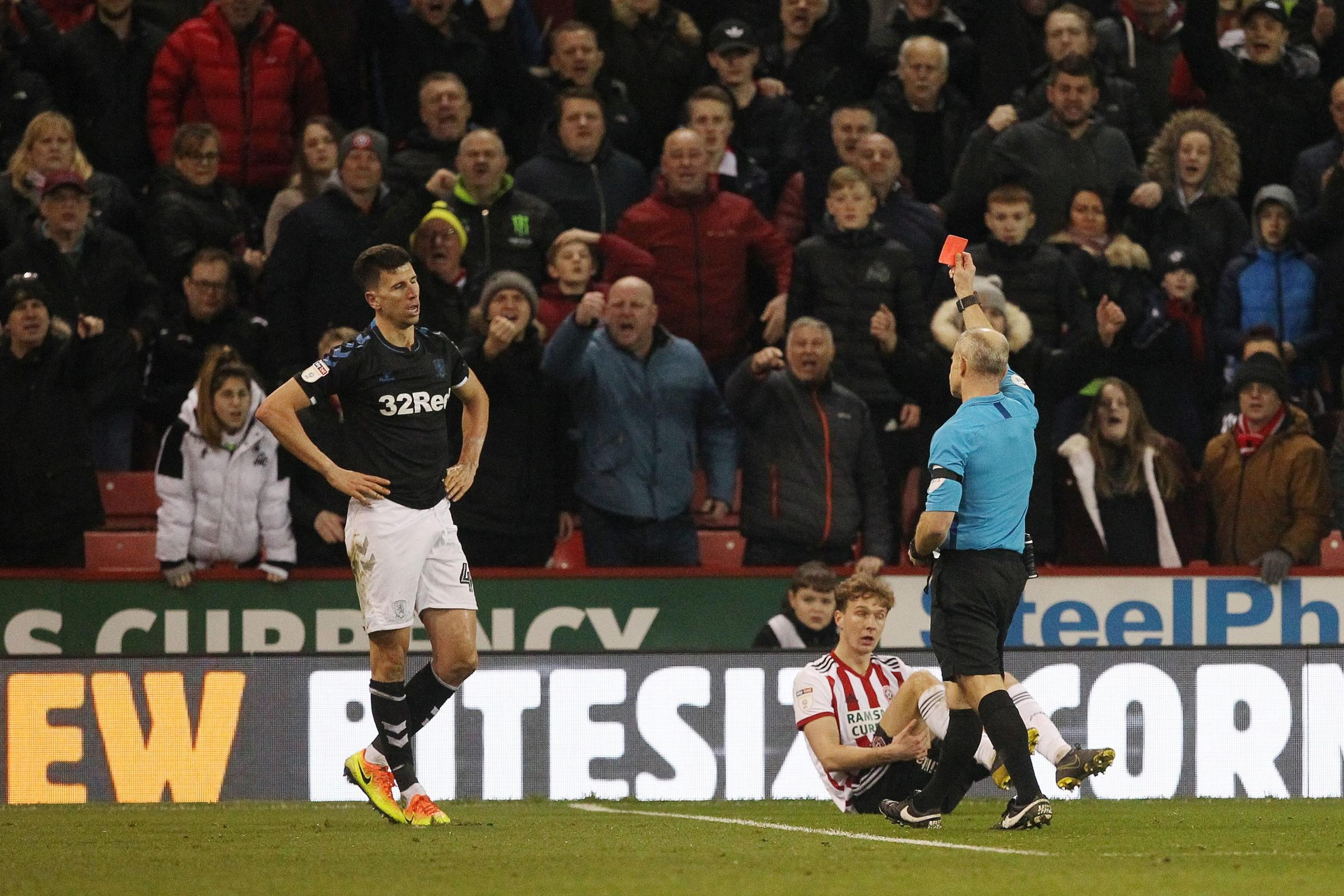History repeating itself as ten-man Boro slip to damaging defeat at Sheffield United