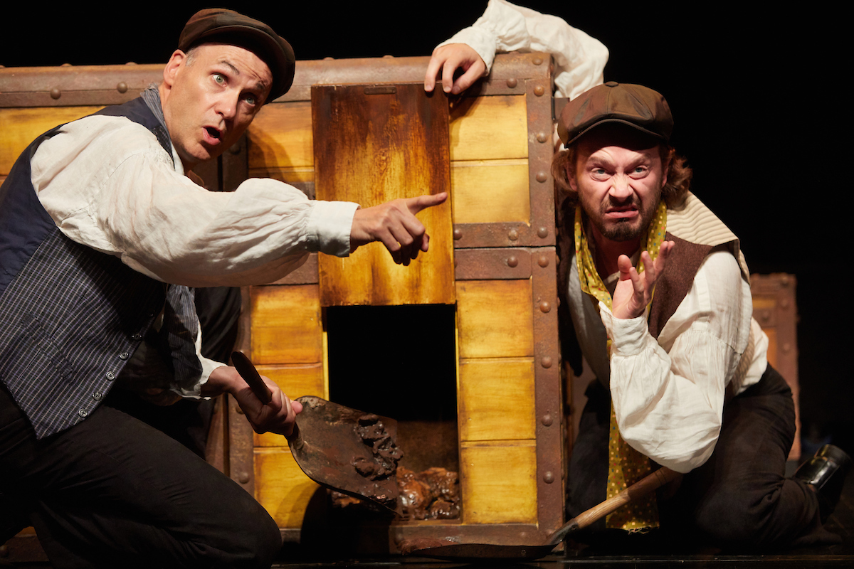 STAGE SHOW: Neal Foster and  Anthony Spargo in Horrible Histories, which is coming to the Gala Theatre in Durham nex month