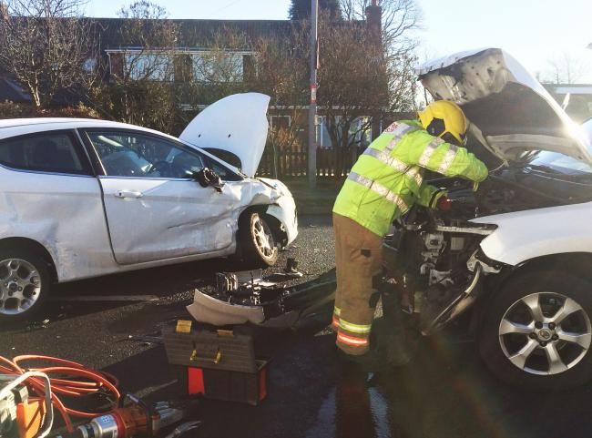 Two Car Crash At Pity Me County Durham The Northern Echo