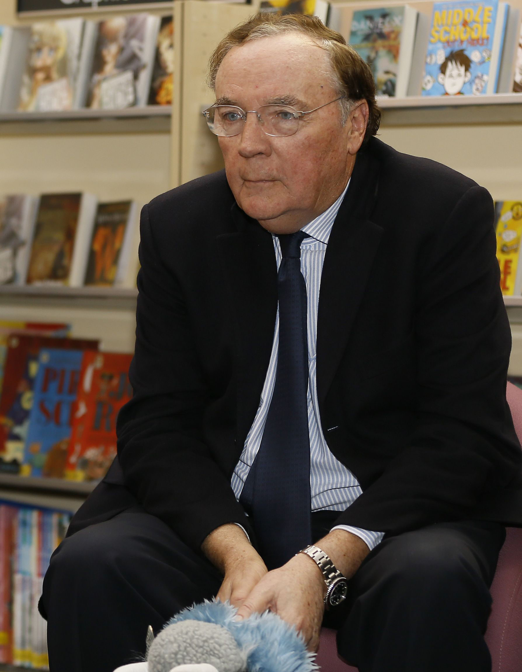 CRIME WRITER: James Patterson    Picture: PA WIRE