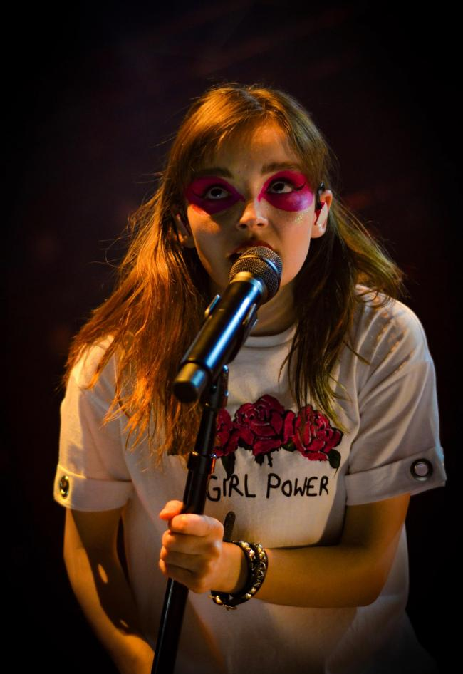 CHVRCHES singer Lauren Mayberry