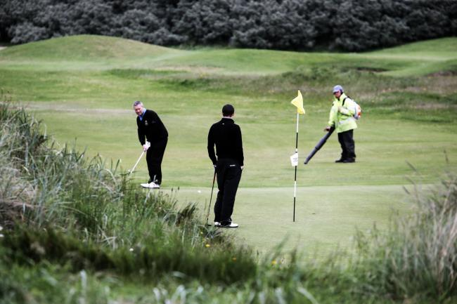 BRABAZON TROPHY: Seaton Carew Golf course. PICTURE: Stuart Boulton..