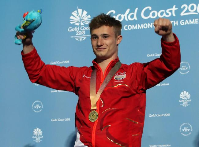 Ripon diver Jack Laugher was one of the stars of last year's Commonwealth Games. Picture: PA