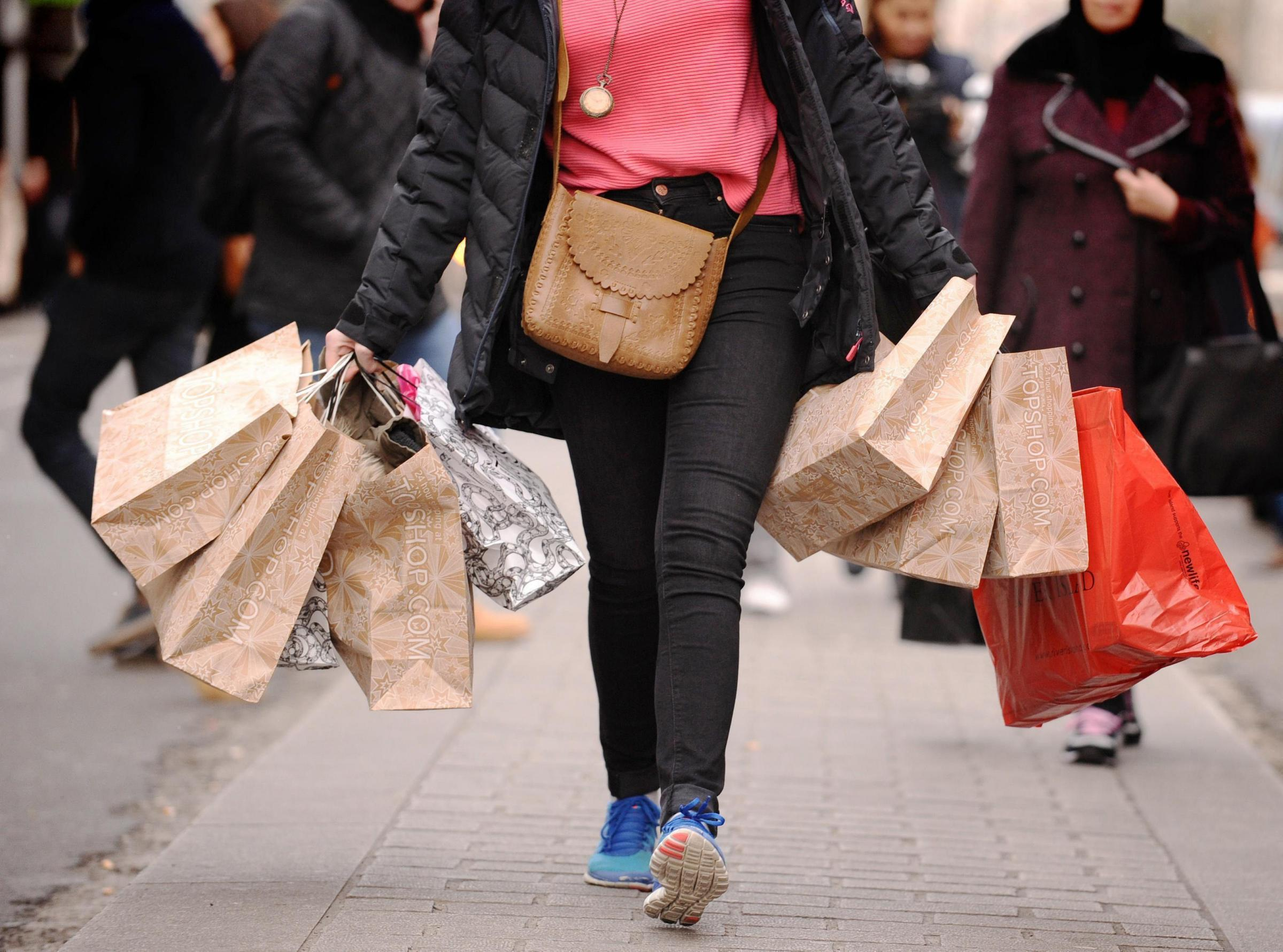 ODDS AGAINST: The Government should urgently consider an online sales tax to help secure the future of the high street, MPs have urged. Picture: DOMINIC LIPINSKI/PA WIRE