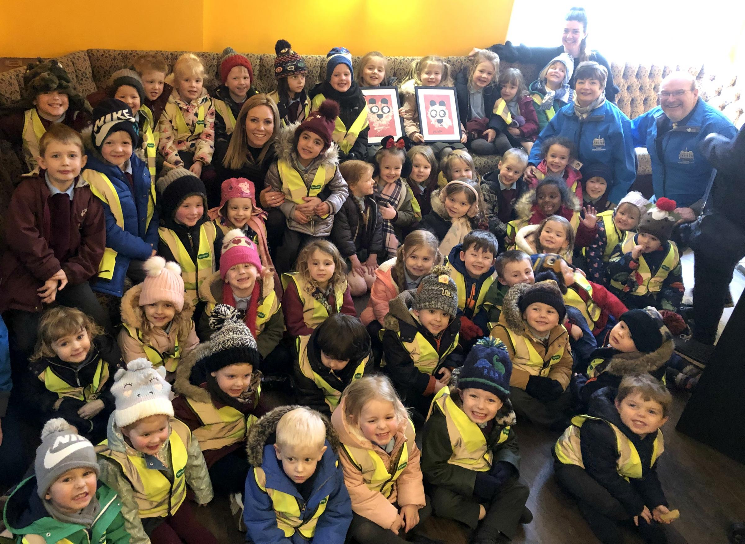 CULTURAL CELEBRATION: Pupils from St Anne's CE Primary School in Bishop Auckland were treated to a day of learning and food tasting