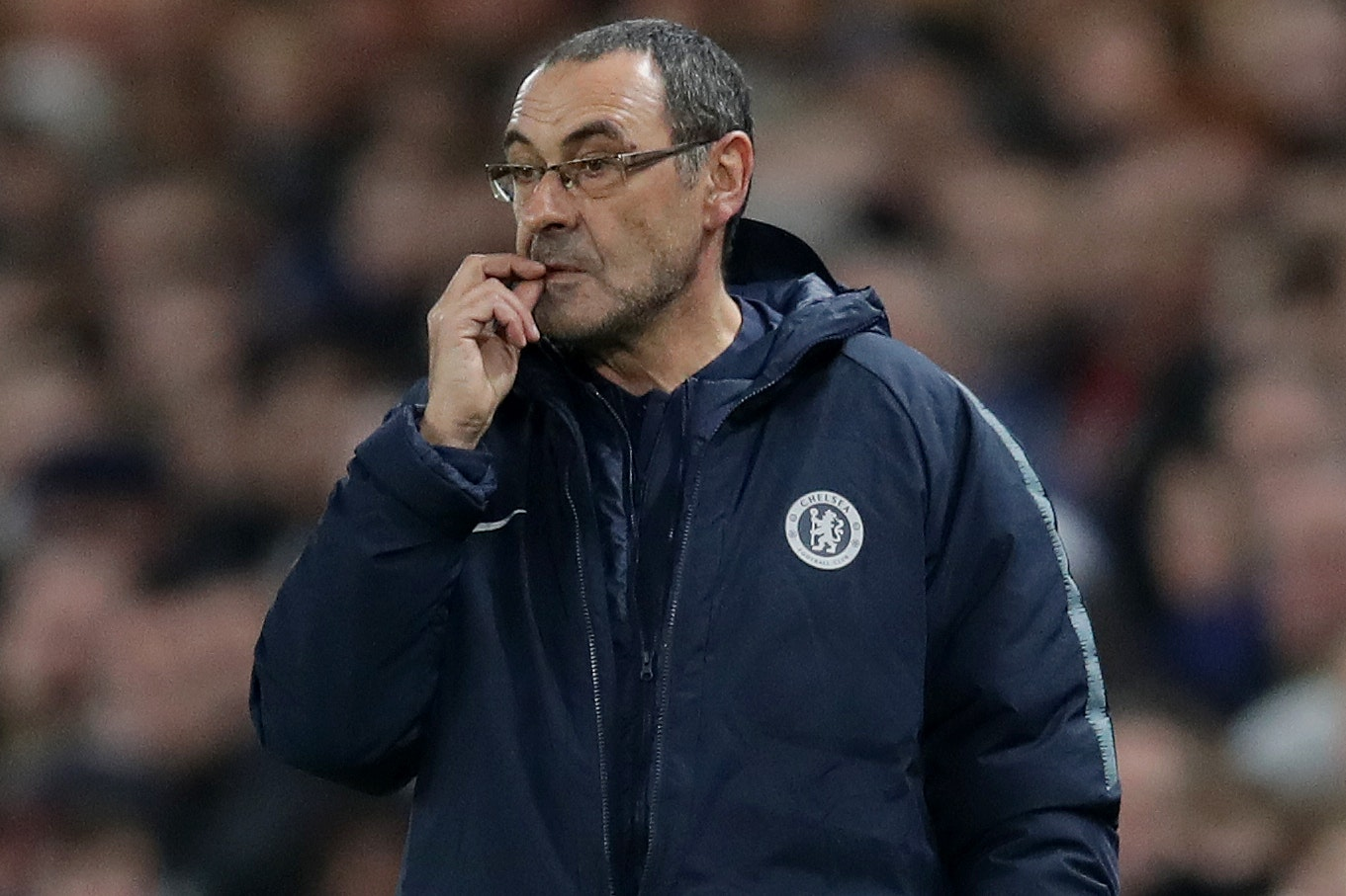 Maurizio Sarri guided Chelsea into the last 16 of the Europa League