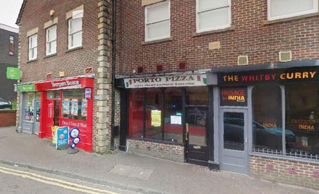 Porto Pizza in Windsor Terrace, Whitby. Picture: Google