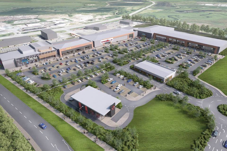 FIRMS CONFIRMED: The two leisure firms have confirmed they will be moving into the complex 						     Picture: CREATE ARCHITECTURE