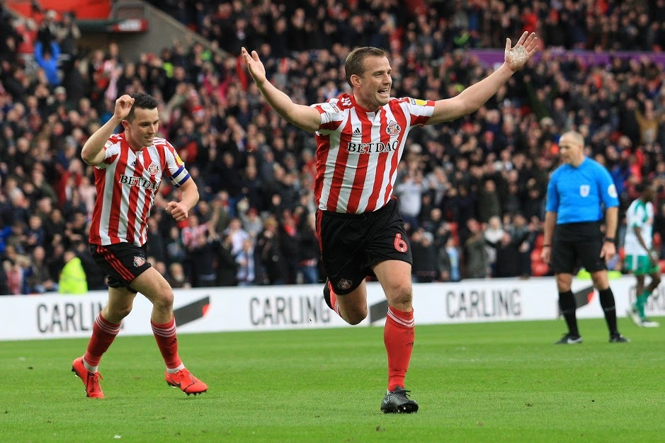 Sunderland's Lee Cattermole (MI News and Sport)
