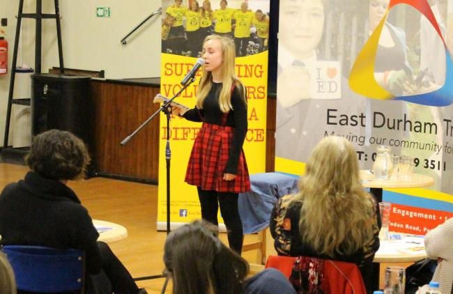 POETRY EVENT: A group of young people organised a major poetry event