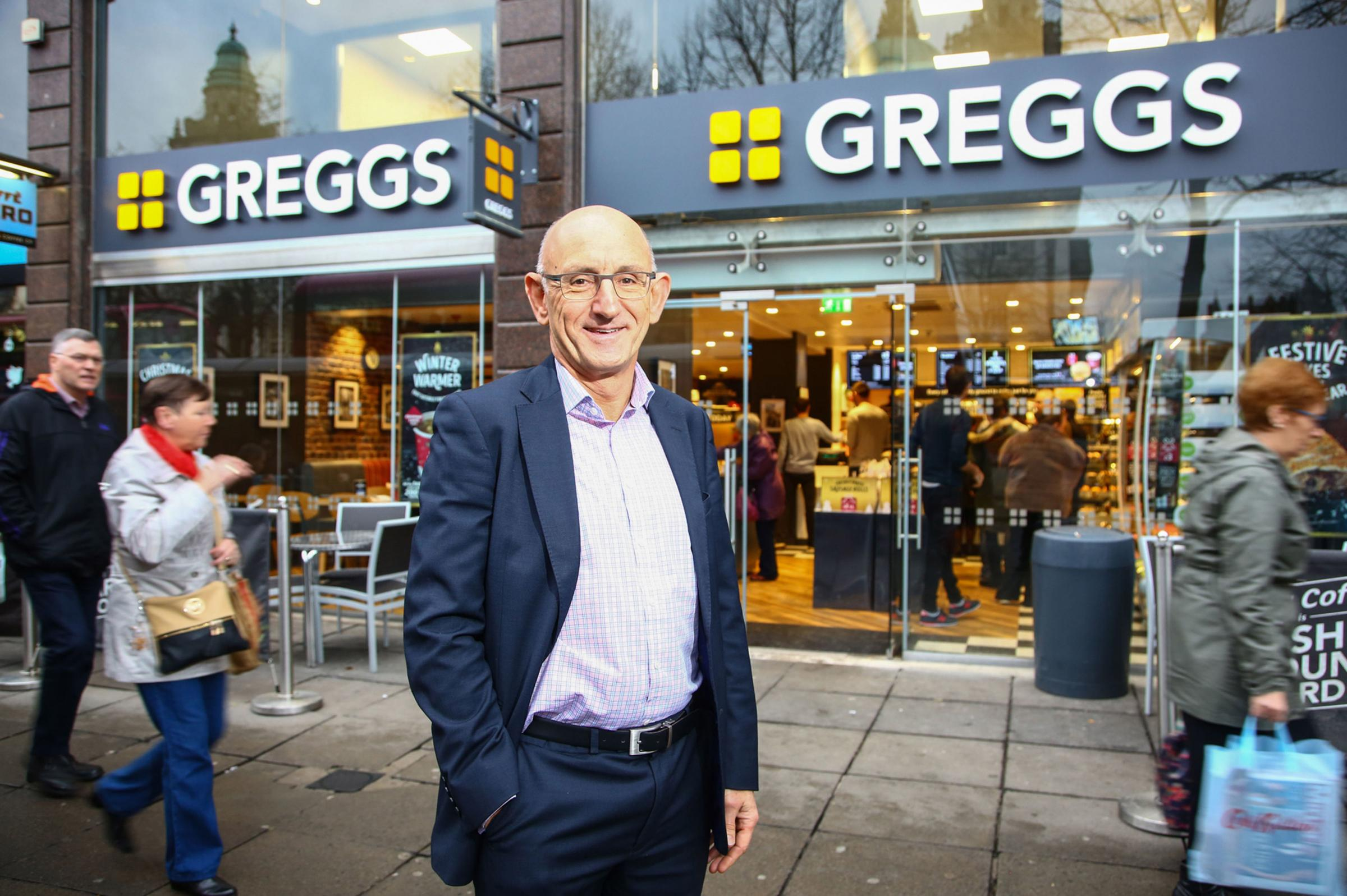 Greggs Chief Executive Roger Whiteside