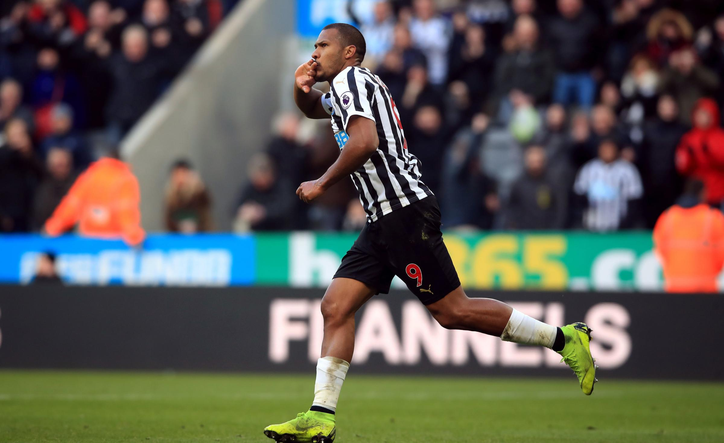 Newcastle United's Salomon Rondon. Picture: PA