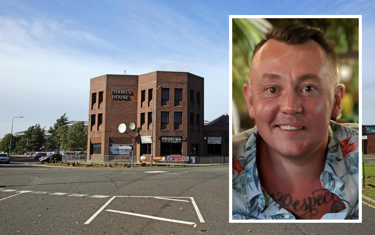 Iain Lee, who died last September after the incident at The Roundhouse pub in Newton Aycliffe