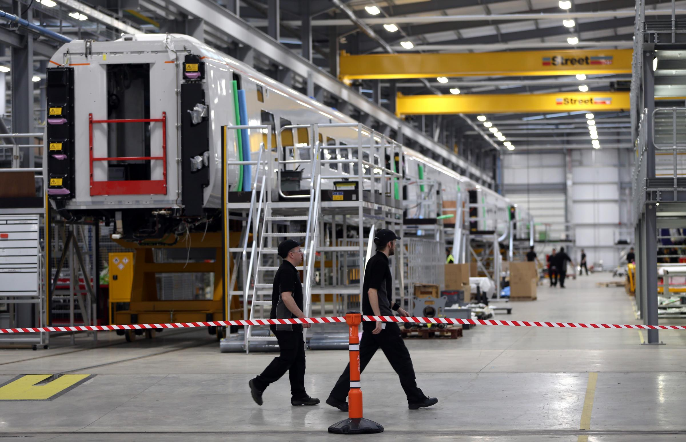 Pressure mounts on Transport for London to review Newton Aycliffe's Hitachi snub