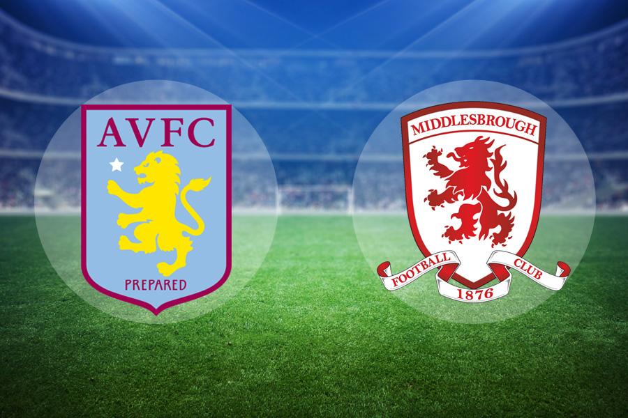 LIVE: Aston Villa vs Middlesbrough