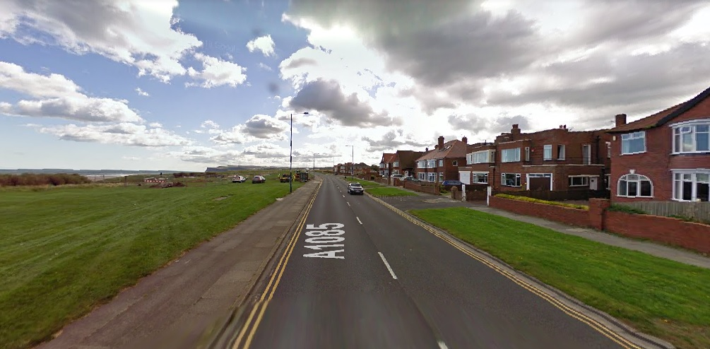 Redcar Coast Road. Picture: GOOGLE