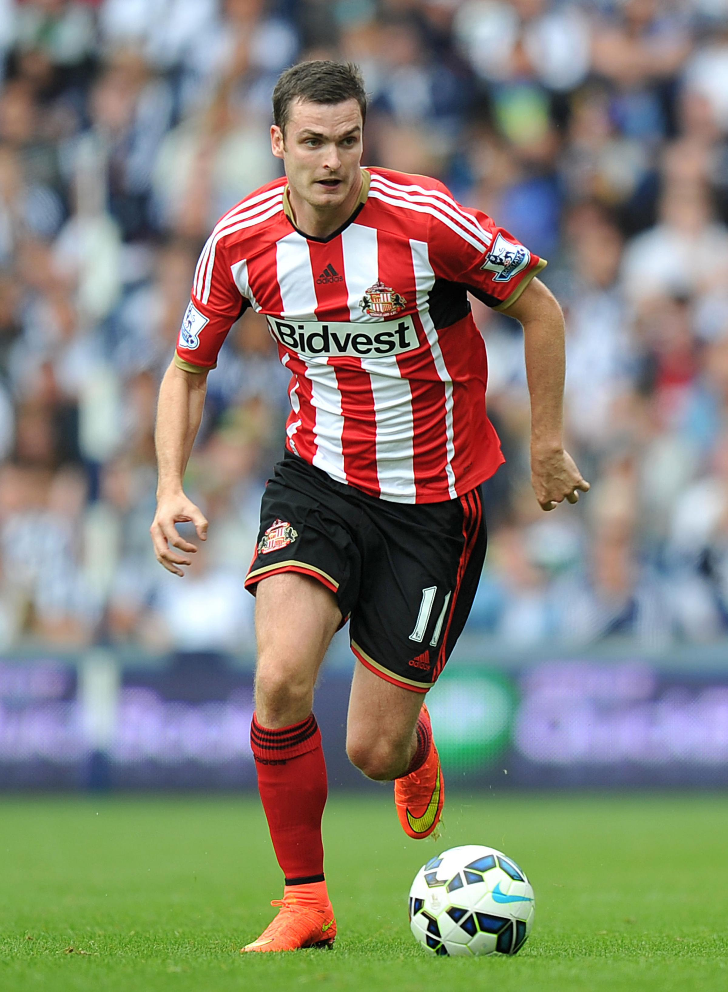 Adam Johnson playing for Sunderland. Picture: PA