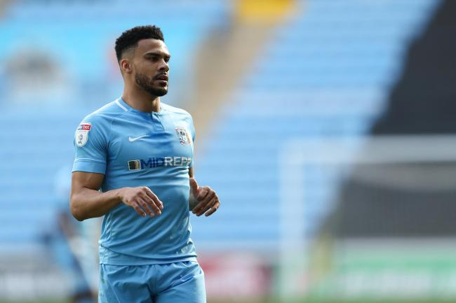 Coventry City vs Oxford United, EFL Sky Bet League One, Ricoh Arena, 23rd March 2019 - Jordan Willis of Coventry City.
