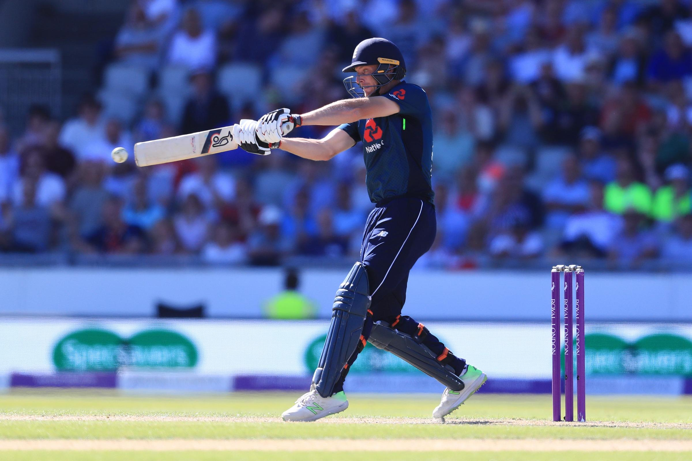 Jos Buttler was dismissed in controversial fashion