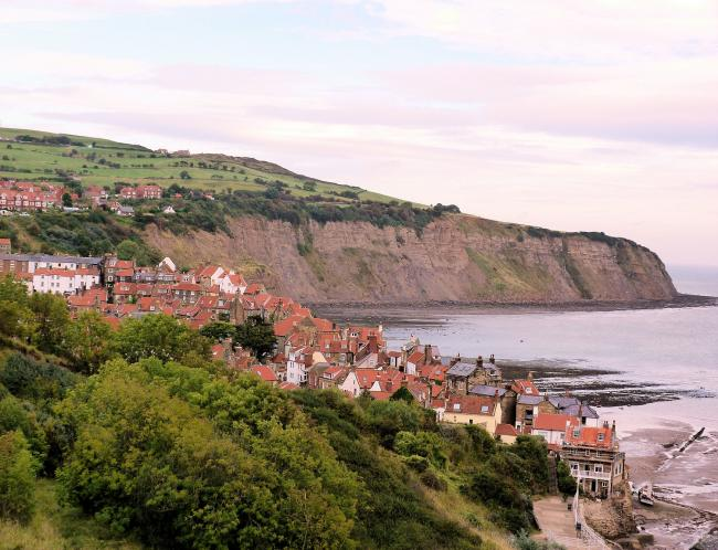 Robin Hoods Bay from Cleveland Way