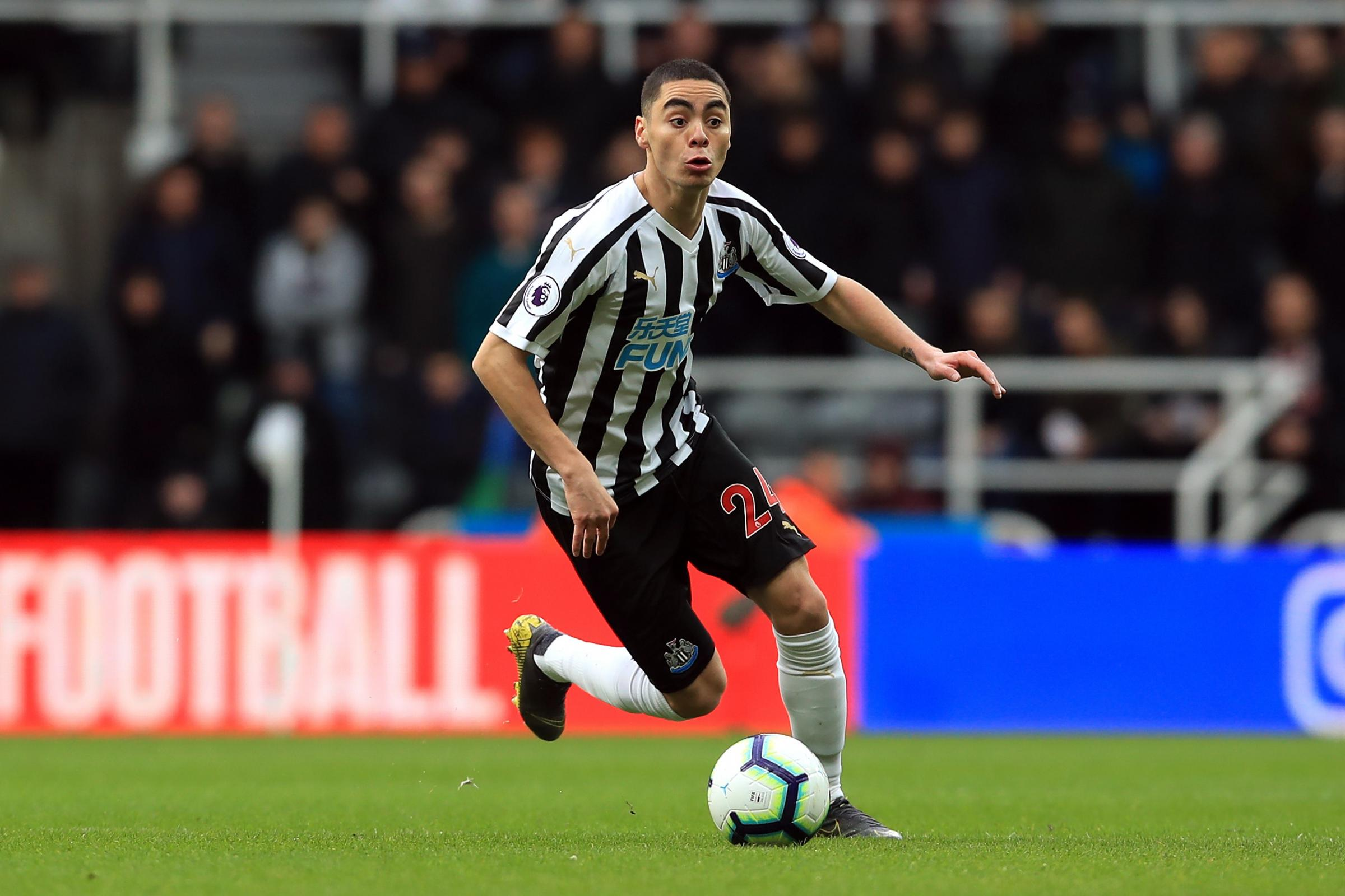Newcastle's record buy to miss final three matches