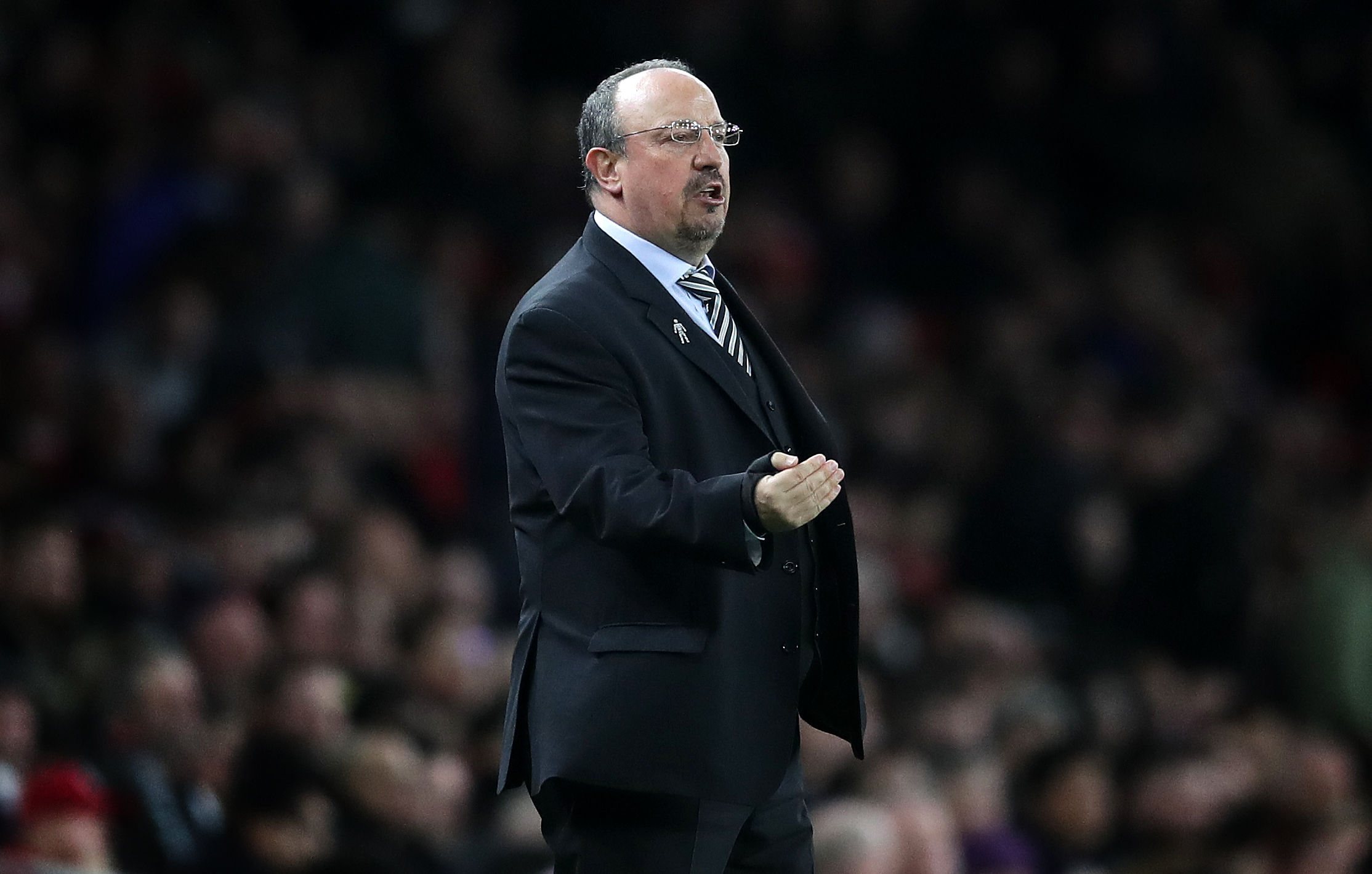 Rafael Benitez's current Newcastle contract is due to expire on June 30